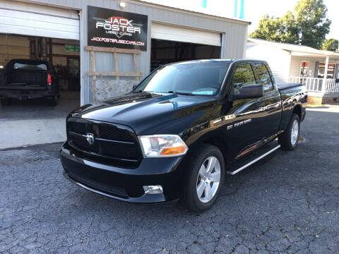 2012 RAM Ram Pickup 1500 for sale at Jack Foster Used Cars LLC in Honea Path SC
