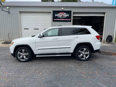 2013 Jeep Grand Cherokee for sale at Jack Foster Used Cars LLC in Honea Path SC