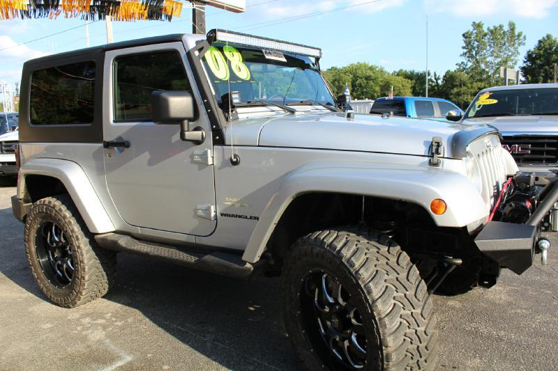 2008 Jeep Wrangler for sale at Auto Force USA - Truck Force USA in Mishawaka IN