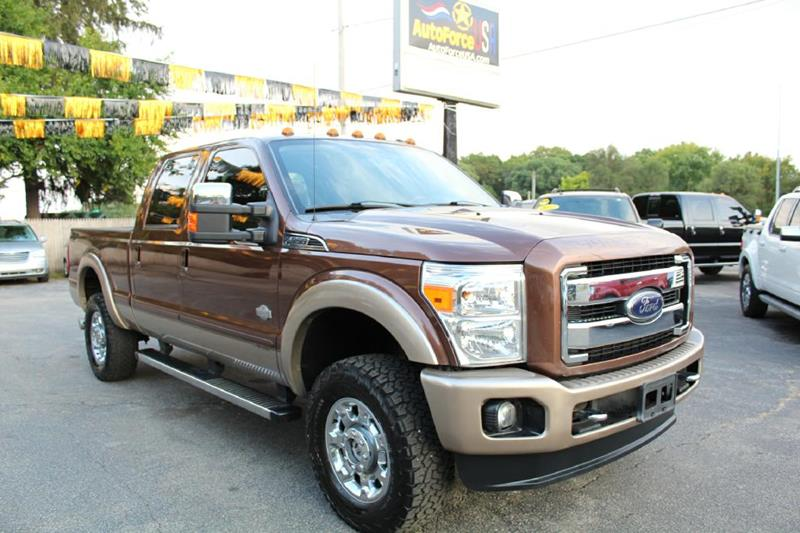 2012 Ford F-350 Super Duty for sale at Auto Force USA in Elkhart IN