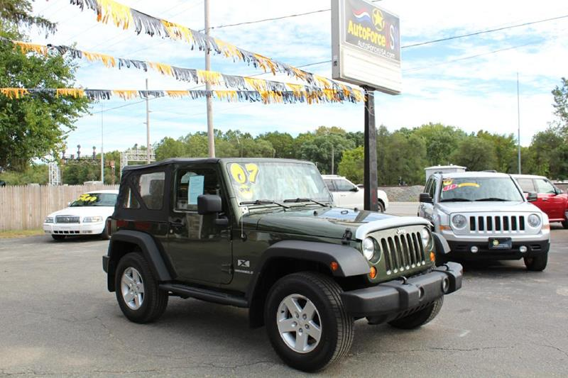2007 Jeep Wrangler for sale at Auto Force USA in Elkhart IN