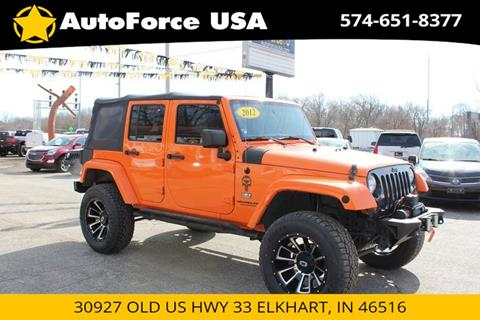 2012 Jeep Wrangler Unlimited for sale in Elkhart, IN