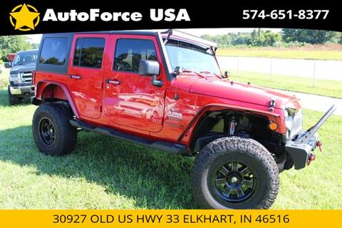 2014 Jeep Wrangler Unlimited for sale in Elkhart, IN