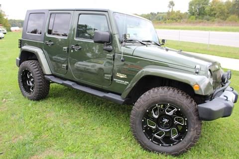 2008 Jeep Wrangler Unlimited for sale in Elkhart, IN