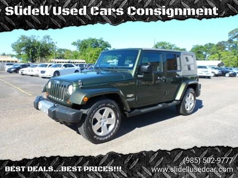 2008 Jeep Wrangler Unlimited for sale in Slidell, LA