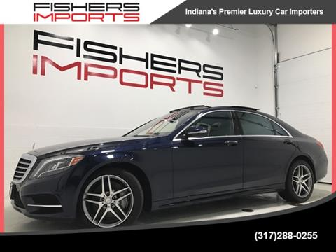2014 mercedes benz s class for sale in fishers in