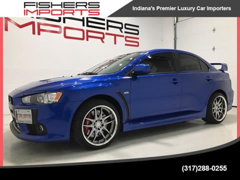 2010 Mitsubishi Lancer Evolution for sale in Fishers, IN