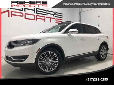 2016 Lincoln MKX for sale in Fishers, IN