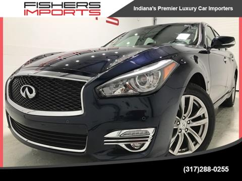2016 Infiniti Q70 for sale in Fishers, IN