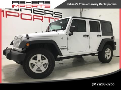 2016 Jeep Wrangler Unlimited for sale in Fishers, IN