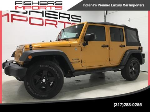 2014 Jeep Wrangler Unlimited for sale in Fishers, IN