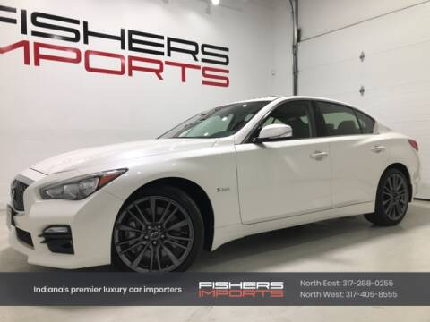 2016 Infiniti Q50 for sale at Fishers Imports in Fishers IN