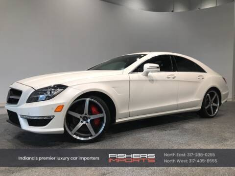 2013 Mercedes-Benz CLS for sale at Fishers Imports in Fishers IN