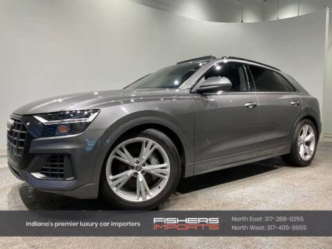 2019 Audi Q8 for sale at Fishers Imports in Fishers IN