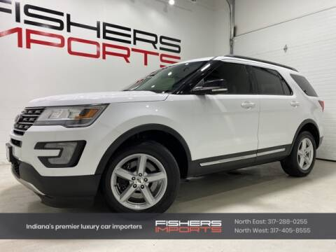 2016 Ford Explorer for sale at Fishers Imports in Fishers IN