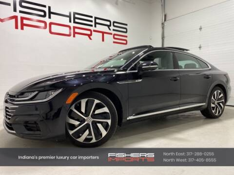 2019 Volkswagen Arteon for sale at Fishers Imports in Fishers IN