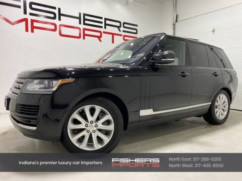 2016 Land Rover Range Rover for sale at Fishers Imports in Fishers IN