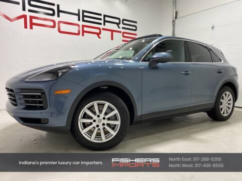 2020 Porsche Cayenne for sale at Fishers Imports in Fishers IN