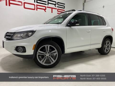 2017 Volkswagen Tiguan for sale at Fishers Imports in Fishers IN