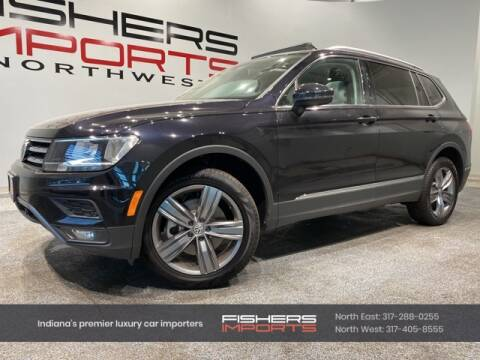 2020 Volkswagen Tiguan for sale at Fishers Imports in Fishers IN