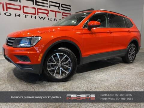 2019 Volkswagen Tiguan for sale at Fishers Imports in Fishers IN