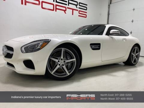 2017 Mercedes-Benz AMG GT for sale at Fishers Imports in Fishers IN