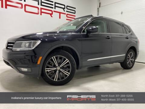 2018 Volkswagen Tiguan for sale at Fishers Imports in Fishers IN