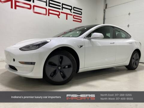 2020 Tesla Model 3 for sale at Fishers Imports in Fishers IN