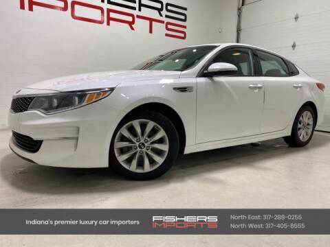 2017 Kia Optima for sale at Fishers Imports in Fishers IN