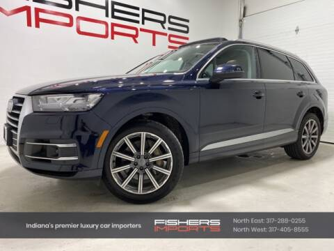 2017 Audi Q7 for sale at Fishers Imports in Fishers IN