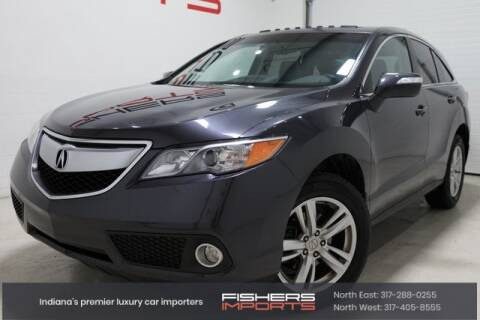 2013 Acura RDX for sale at Fishers Imports in Fishers IN