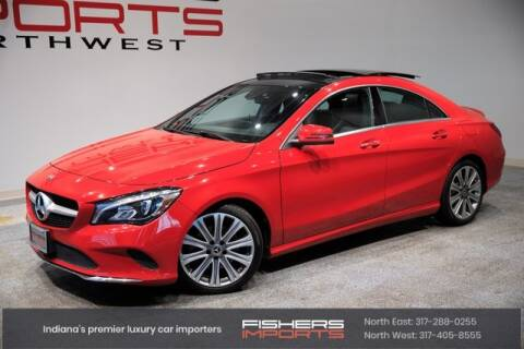 2018 Mercedes-Benz CLA for sale at Fishers Imports in Fishers IN