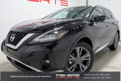 2019 Nissan Murano for sale at Fishers Imports in Fishers IN