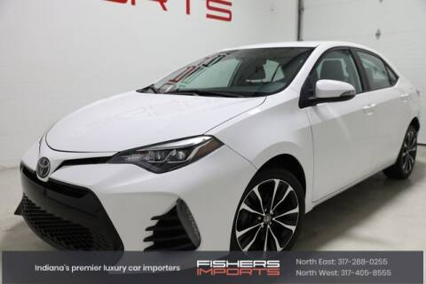 2018 Toyota Corolla for sale at Fishers Imports in Fishers IN