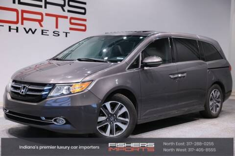 2015 Honda Odyssey for sale at Fishers Imports in Fishers IN