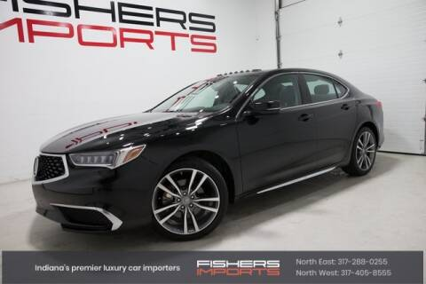 2019 Acura TLX for sale at Fishers Imports in Fishers IN