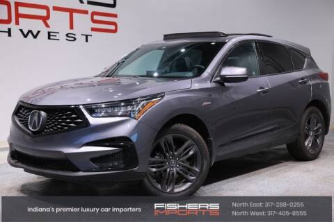 2020 Acura RDX for sale at Fishers Imports in Fishers IN