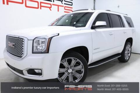 2016 GMC Yukon for sale at Fishers Imports in Fishers IN