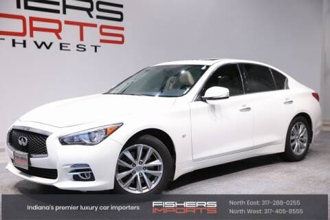 2015 Infiniti Q50 for sale at Fishers Imports in Fishers IN
