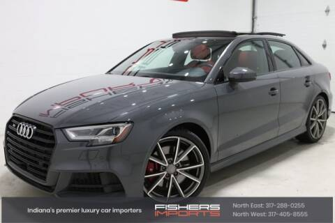 2018 Audi S3 for sale at Fishers Imports in Fishers IN