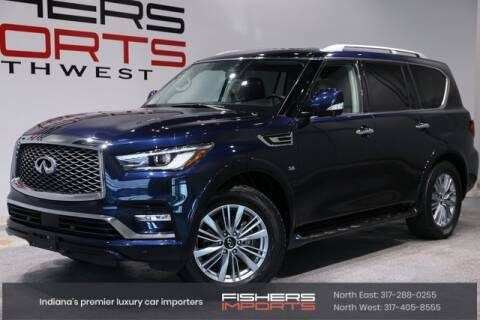 2019 Infiniti QX80 for sale at Fishers Imports in Fishers IN