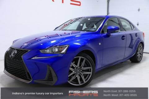 2017 Lexus IS 300 for sale at Fishers Imports in Fishers IN