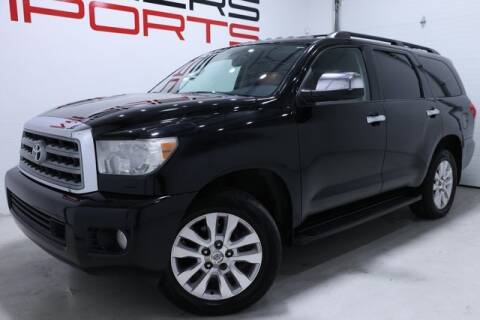 2012 Toyota Sequoia for sale at Fishers Imports in Fishers IN