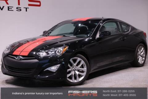 2014 Hyundai Genesis Coupe for sale at Fishers Imports in Fishers IN