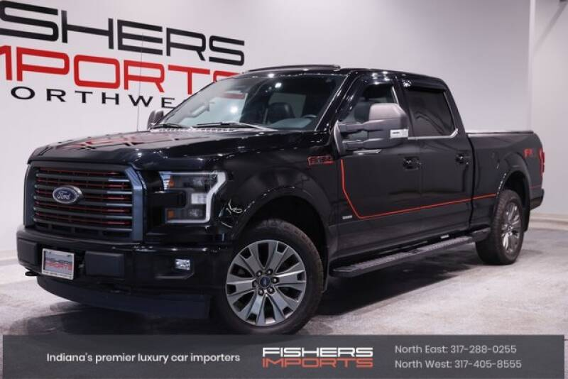 2017 Ford F-150 for sale at Fishers Imports in Fishers IN