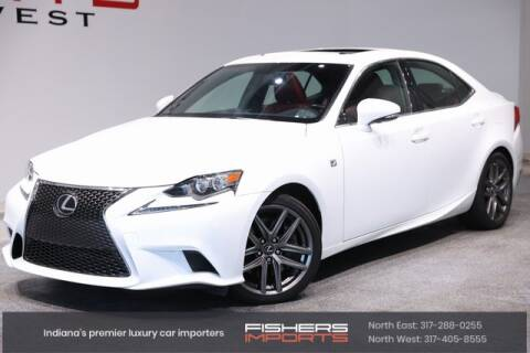 2016 Lexus IS 300 for sale at Fishers Imports in Fishers IN