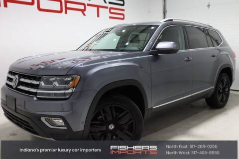 2018 Volkswagen Atlas for sale at Fishers Imports in Fishers IN