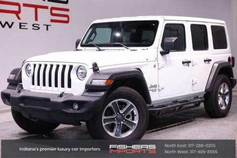 2019 Jeep Wrangler Unlimited for sale at Fishers Imports in Fishers IN