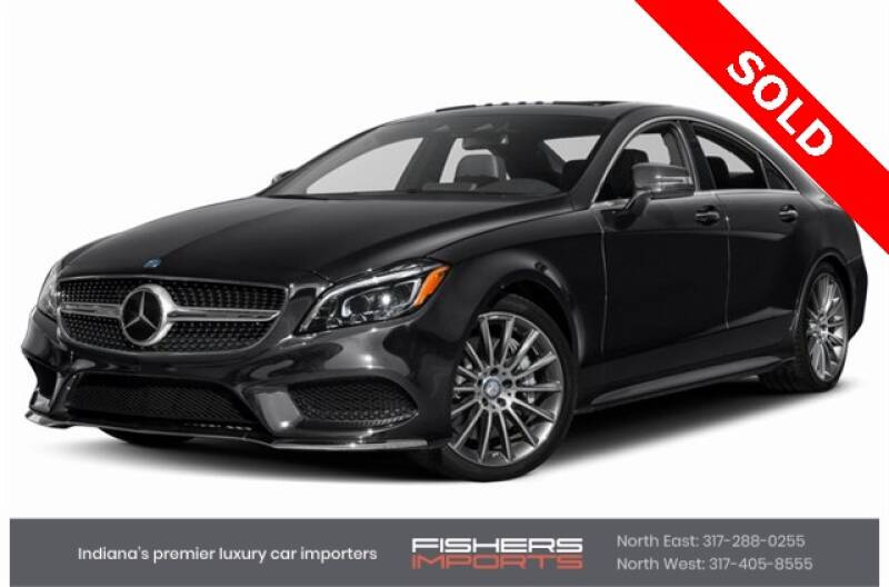 2015 Mercedes-Benz CLS for sale at Fishers Imports in Fishers IN