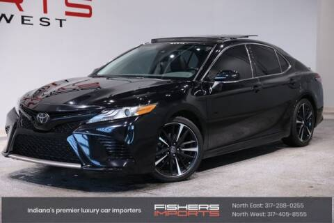 2019 Toyota Camry for sale at Fishers Imports in Fishers IN